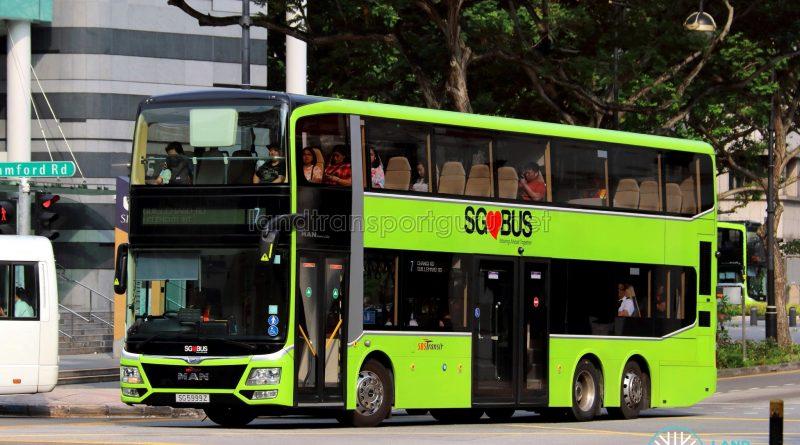 3-door MAN Lion's City DD (SG5999Z) - Service 7