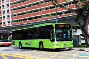 Service 974: Tower Transit Mercedes-Benz Citaro (SBS6322H)