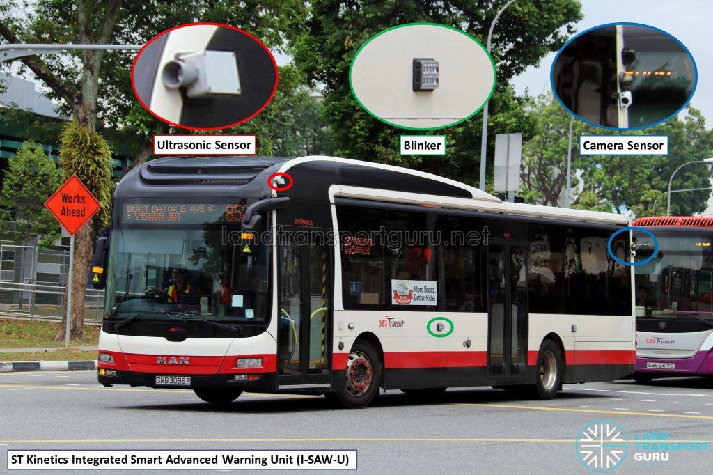 ST Kinetics I-SAW-U Driver Warning System