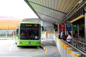 Service 68 - Berth at Tampines Interchange