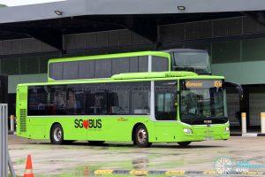 SBS Transit Express Bus Service 851e - MAN A22 Euro 6 (SG1750A)