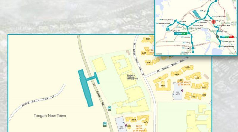 Tengah Park: JRL Station Diagram