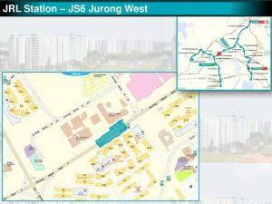 Jurong West: JRL Station Diagram