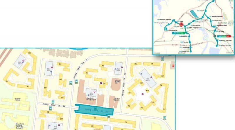 Gek Poh: JRL Station Diagram