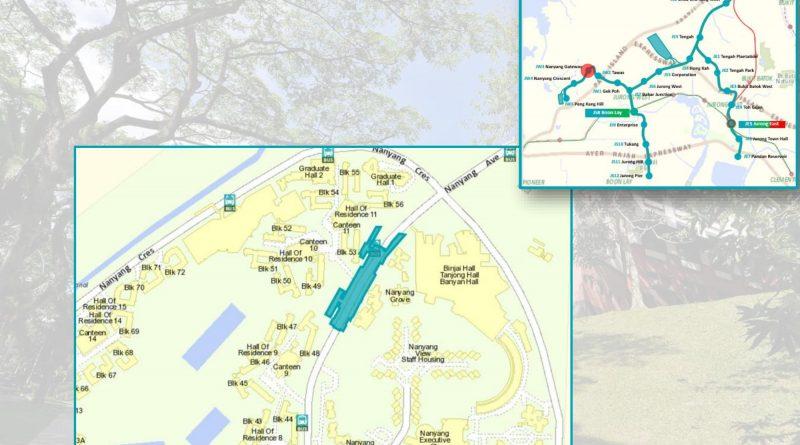 Nanyang Gateway: JRL Station Diagram