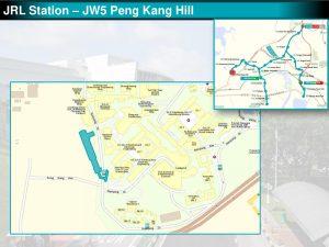 Peng Kang Hill: JRL Station Diagram