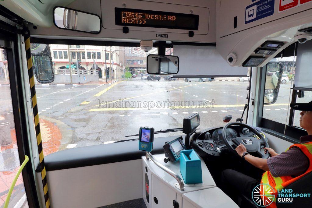 MAN A22 (Euro 6) - Driver's Cab