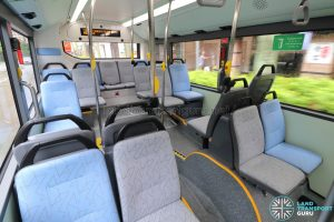 MAN A22 (Euro 6) - Rear seating