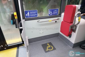 MAN A95 (Euro 6) - Front wheelchair bay