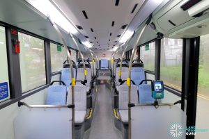 MAN A95 (Euro 6) - Lower deck (Mid to Rear, without red seat covers)