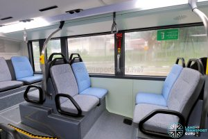 MAN A95 (Euro 6) - Lower deck rear seating