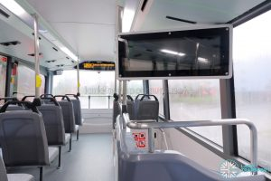 MAN A95 (Euro 6) - Upper deck front section
