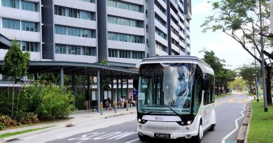 Bolloré Bluetram (PC6617B) Supercapacitor Bus in NTU