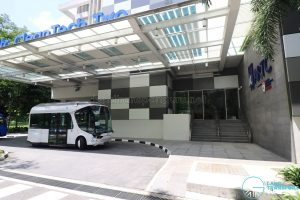 NTU-Blue Solutions Flash Shuttle - CleanTech Two stop