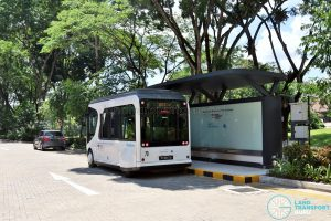 NTU-Blue Solutions Flash Shuttle - Charging Stop at North Hill Residences