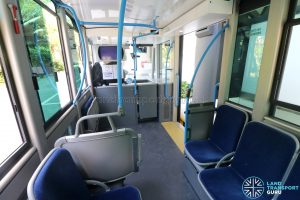 Bolloré Bluetram (PC6617B) - Interior (Back to Front)