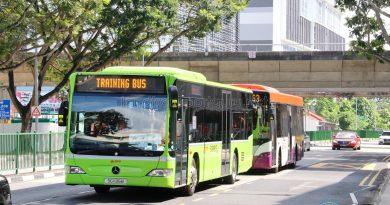 TF50 drivers undergoing route familiarization near Aljunied MRT