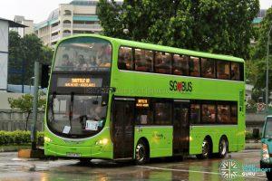 Shuttle 10 - Go-Ahead Singapore Volvo B9TL (SBS3478L)