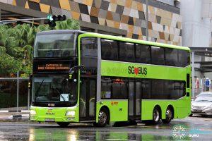 Express 17 - SMRT Buses MAN A95 (SG5814Z)