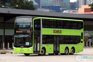 Service 851e - MAN A95 Euro 6 (SG5921Y)