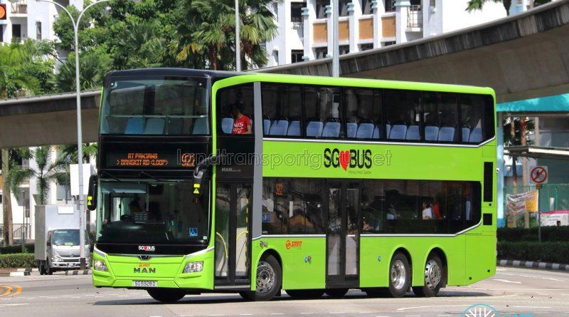 Service 922 - SMRT MAN A95 (SG5928D)
