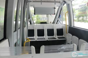 Navya Autonom Shuttle (RD3131B) -Interior