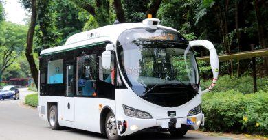 ST Kinetics Autobus (RD3153M) on Trial at Sentosa