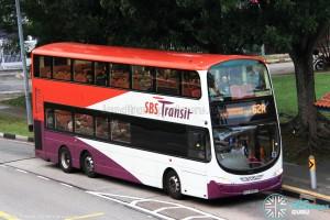 SBST Volvo B9TL (SBS3055Z) - Service 62A