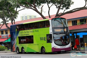 SBST Volvo B9TL Wright (SBS3130P) - Service 65