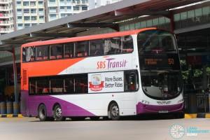 SBS Transit Volvo B9TL Wright (SBS3414X) -Service 50