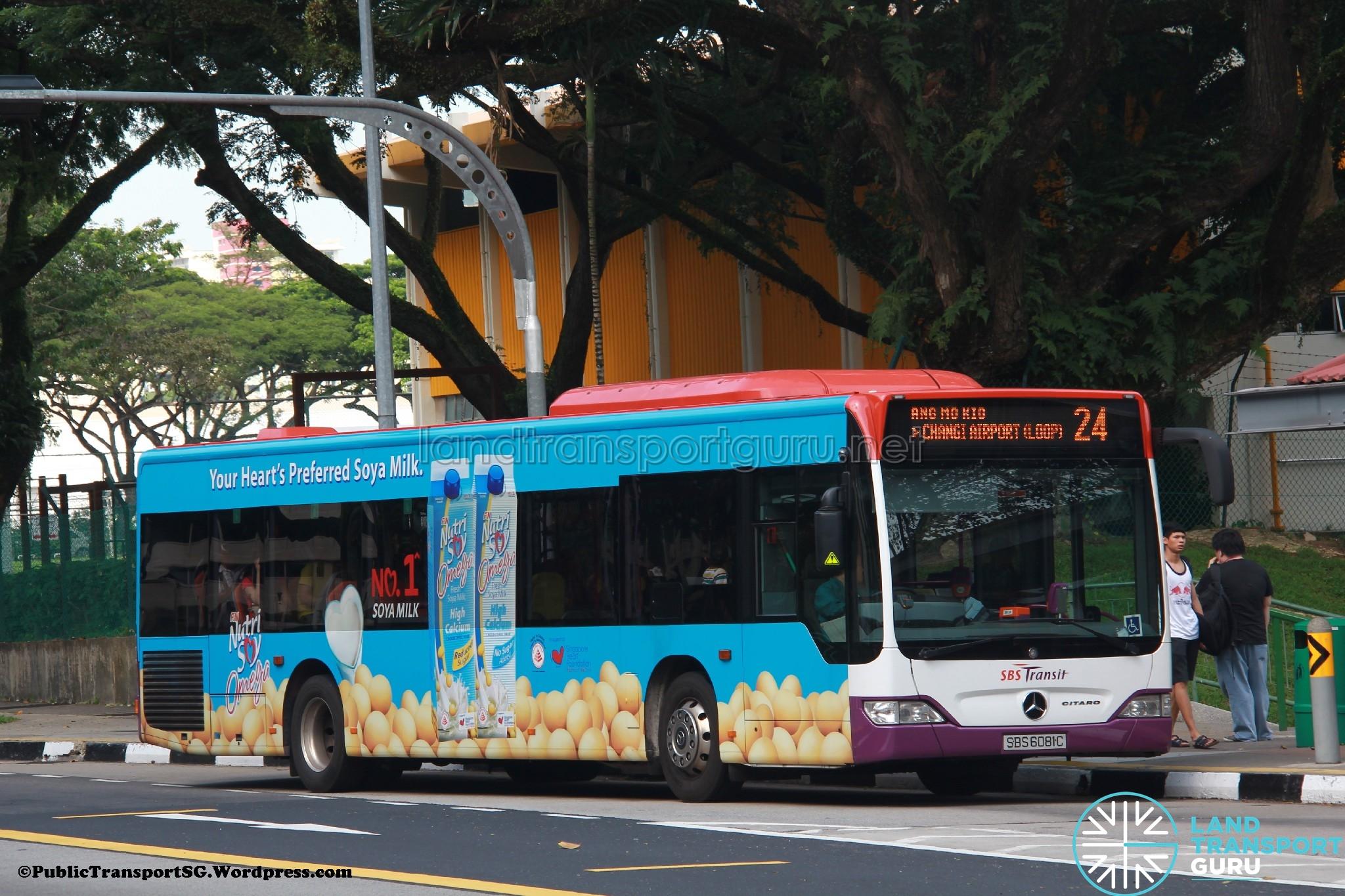 Sbs transit bus service 24 land transport guru for Mercedes benz sugar land service