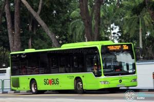Go-Ahead Mercedes-Benz Citaro (SBS6559S) - Service 36B