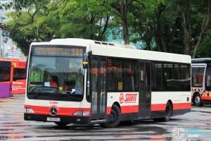 SMRT Mercedes-Benz OC500LE (SMB108J) - Service 985