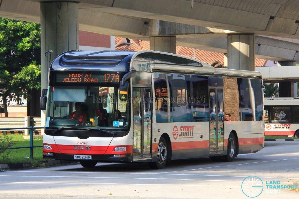SMRT MAN A22 (SMB207G) - Service 177A