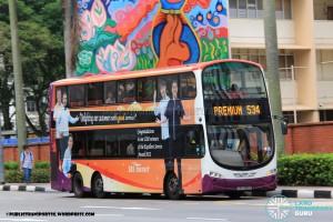 SBST Volvo B9TL Wright (SBS3001D) - Premium 534