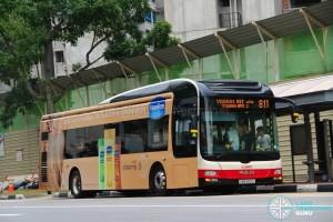 SMRT MAN A22 (SMB300U) - Service 811