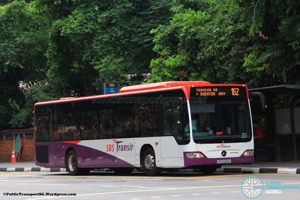 SBST Mercedes-Benz O530 Citaro (SBS6361U) - Service 162