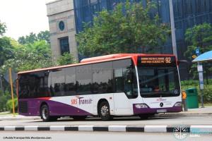 SBST Mercedes-Benz O530 Citaro (SBS6778B) - Service 92