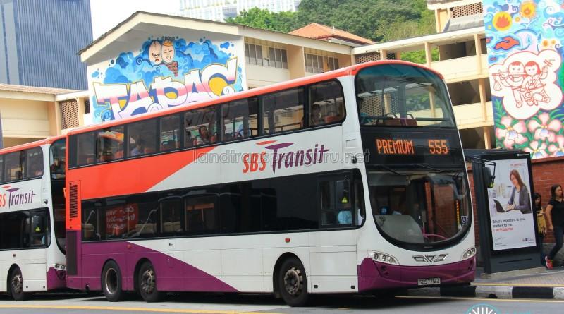 SBST Volvo B9TL Wright (SBS7716Z) - Premium 555