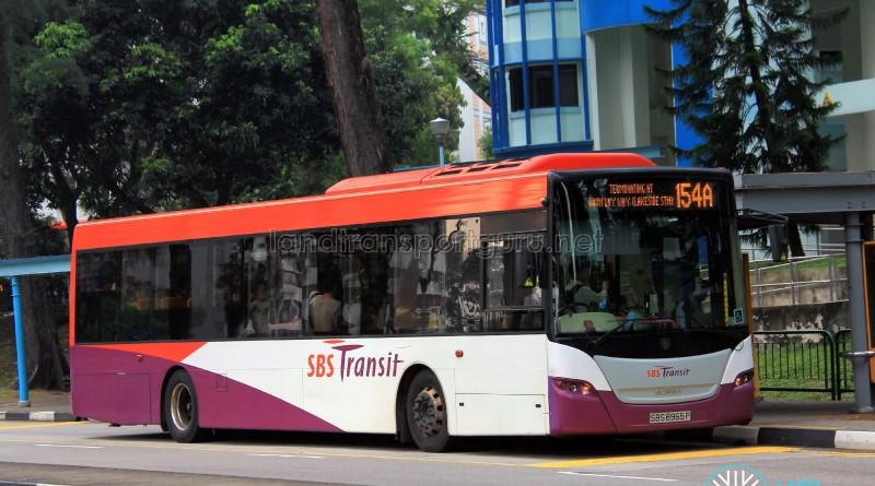 SBST Scania K230UB (SBS8965P) - Service 154A