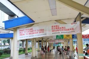 Old Bukit Panjang Bus Interchange - Concourse