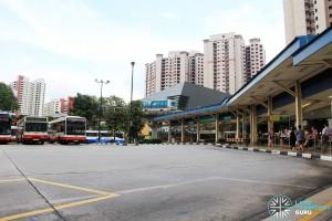 Old Bukit Panjang Bus Interchange - Bus Park