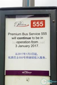 Premium 555 continuation poster