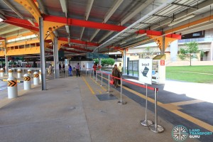 Jurong East Temporary Interchange - Add-on queue line for Service 41