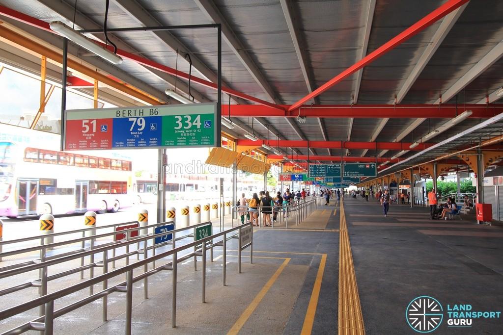 Jurong East Temporary Interchange - Berth B6