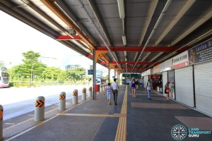 Jurong East Temporary Interchange - Alighting berth