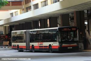 SMRT Mercedes-Benz O405G (Hispano Habit) (TIB1158E) - Service 106A
