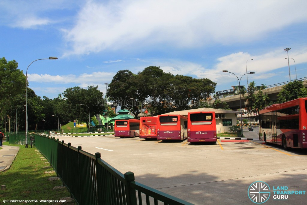 Shenton Way Bus Terminal (2014) - Bus Park