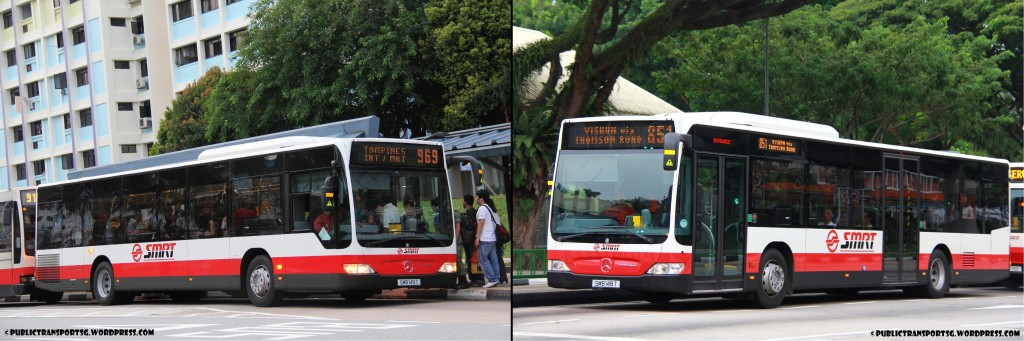 SMRT's Batch 1 Citaro: SMB148T (when new)