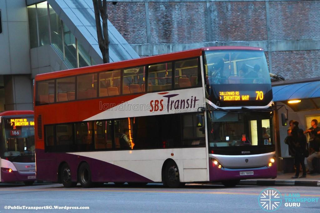 SBS Transit Scania K310UD (SBS7888K) - Service 70